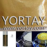 Leather Bag Gold and White Pearlecent Powder Pigment