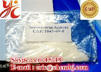 Pure Testosterone Acetate 99% Test Ace. CAS 1045-69-8 Oral Injectable Muscle Gain Anabolic Steroid Powder