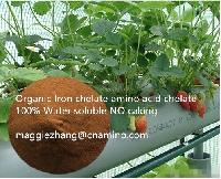 Iron Amino Acid Chelate Organic Fertilizer 100% water soluble No caking