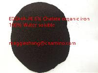 EDDHA-FE 6% Chelated iron 100% water soluble organic fertilizer