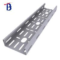 Outdoor Electric wire mesh holes Aluminium Galvanized Steel Cable Tray